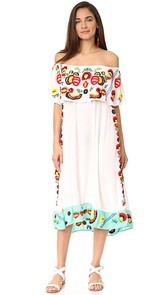 Pia Pauro Off Shoulder Layering Dress