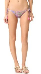 PilyQ Tie Full Bikini Bottoms