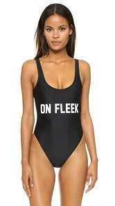 Private Party On Fleek One Piece Bathing Suit