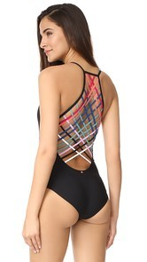 Red Carter Dream Weaver Maillot