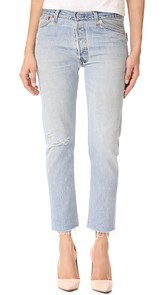 RE/DONE x Levis Relaxed Cropped Jeans