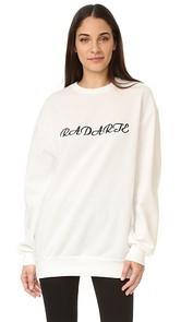 Rodarte Long Sleeve Sweatshirt