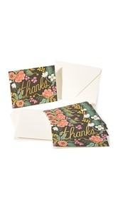 Rifle Paper Co Birch Floral Thank You Cards