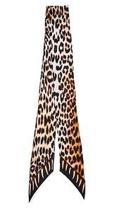 Rockins Leopards Teeth Super Skinny Scarf