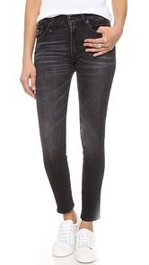 R13 High Rise Skinny Jeans