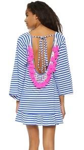 SUNDRESS Indiana Stripe Short Beach Dress