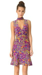 Saloni Fleur Mini Dress