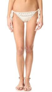 She Made Me Farah Tie Side Bikini Bottoms