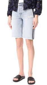 Siwy Memphis Relaxed Denim Bermuda Shorts