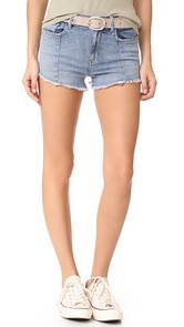 Siwy L.R. Paneled Shorts