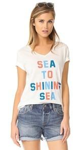 Sol Angeles Shining Sea Torque Tee