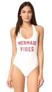 Spiritual Gangster Mermaid Vibes Statement One Piece