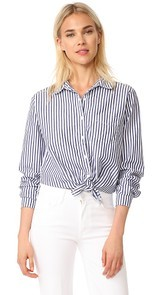 Stateside Oxford Blouse