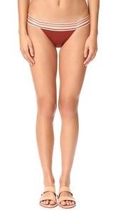 SAME SWIM The Lola Low Rise Bikini Bottoms