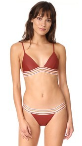 SAME SWIM The Kitten Triangle Bikini Top