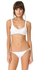 Tavik Swimwear Marlowe Ribbed Bikini Top