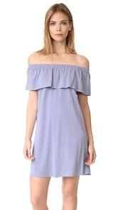 SUNDRY Ruffle Dress