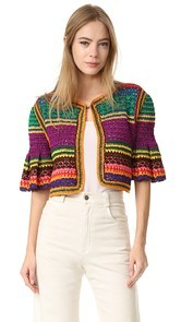 Spencer Vladimir The Tulum Bell Cardigan