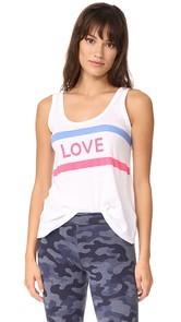 SUNDRY Love Scoop Tank