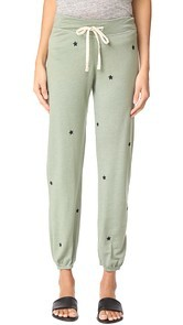SUNDRY Star Patches Sweatpants
