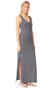 Three Dots V Neck Maxi Dress
