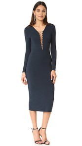T by Alexander Wang Lace Up Dress