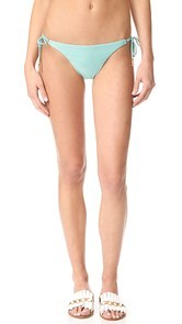 ViX Swimwear Solid Long Tie Bikini Bottoms