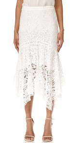 WAYF Ghita Lace Skirt