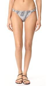ViX Swimwear Brushed Bia Bikini Bottoms
