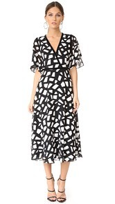 Yigal Azrouel Fit & Flare Dress