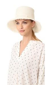 Artesano Playa Hat with Fringe