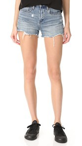 Blank Denim High Rise Ms. Throwback Shorts
