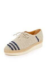 Coclico Shoes Paddle Crochet Oxfords