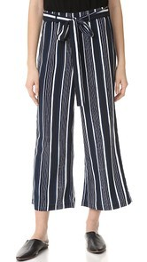cupcakes and cashmere Henderson Flare Crop Pants