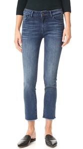 DL1961 Mara Instasculpt Straight Cropped Jeans