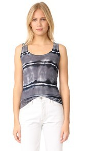 Enza Costa Bold Ribbed Tank
