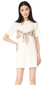ENGLISH FACTORY Short Dress With Tie