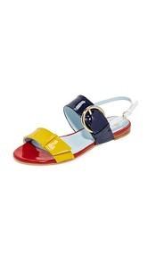Frances Valentine Faith Flat Sandals