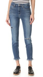 Joes Jeans Charlie High Rise Crop Jeans