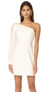 Keepsake Signals One Shoulder Mini Dress
