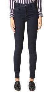 LAGENCE Marguerite High Rise Skinny Jeans