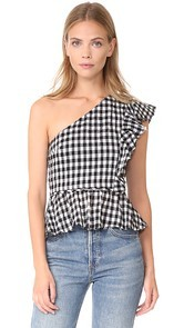McGuire Denim Lusso One Shoulder Top