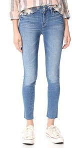 MOTHER The Looker Ankle Fray Jeans