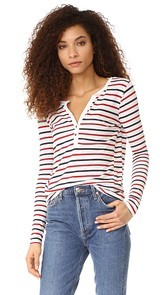 Pam & Gela Striped Henley