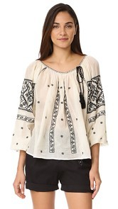 Star Mela Madina Embroidered Top