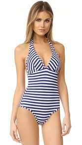 Shoshanna Halter One Piece