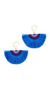 Shashi Sophie Fan Earrings