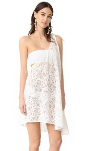 6 Shore Road by Pooja Pebble Beach Cover Up Dress