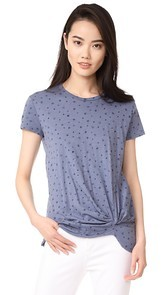 Stateside Short Sleeve Star Print Tee