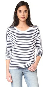 Stateside Long Sleeve Stripe Pullover